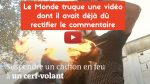 "Fake ""Le Monde""! 😡"