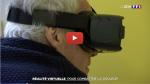 CYBERTHÉRAPIE: la médecine combat la douleur grâce la réalité virtuelle. 5 centres hospitaliers et cliniques l'utilisent déjà en France.