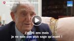 Exceptionnel!  Ce vétéran de 96 ans faisait partie des 177 Français qui ont débarqué le jour J il y a 75 ans