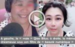 La jeune et jolie Qiao Biluo, adulée par ses fans, s'est transformée subitement en une ronde Sexagénaire!!